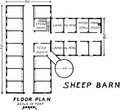 Barn Plans Marvelous Small Barn Plans 1 80567 Sheepbarn Lg Gif House Plans
