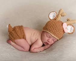 Deer Halloween Costume Baby Baby Deer Costume Etsy