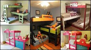 All In One Loft Twin Bunk Bed Bunk Beds Plans by Diy Triple Bunk Bed