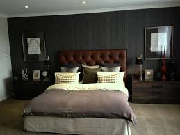 mens bedroom ideas plaid wall classic style bed rectangle rug