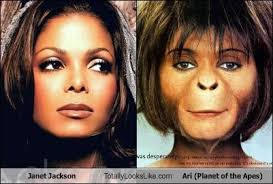 Janet Jackson Meme - janet jackson totally looks like ari planet of the apes totally
