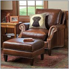 Armchair Ottoman Design Ideas Armchair And Ottoman Set Sofa Leather Armchair And