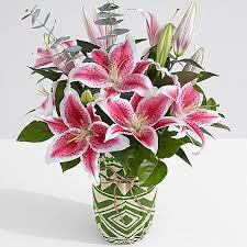 stargazer bouquet fragrant stargazer lilies