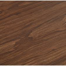 trafficmaster allure 6 in x 36 in dark walnut luxury vinyl plank