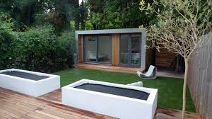 Modern Garden Sheds Small Garden Modern Decorating Clear