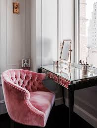 Pink Office Furniture by Tufted Pink Office Chair Decorate Pinterest Pink Office