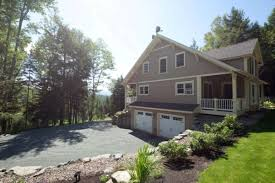 homes built into hillside arts crafts style yankee barn home built into a hillside yankee
