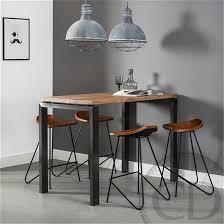 table de cuisine design table table haute bois table haute bois cuisine table haute bois