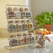 18 Jar Spice Rack Spice Racks Rotating Spice Holders Dunelm