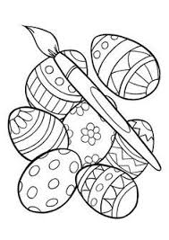easter basket with eggs coloring page easter basket coloring pages holiday coloring pages pinterest