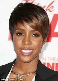 hair weave for pixie cut pregnant kelly rowland trades in her pixie cut for long curly hair