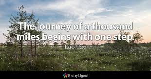 wedding quotes journey begins step quotes brainyquote