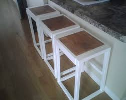 Free Wood Step Stool Plans by Ana White Beginner Bar Stools Diy Projects