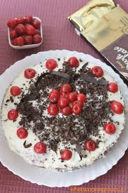eggless black forest cake whats cooking mom