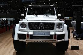 G Wagon 6x6 Interior Mercedes Benz G500 4x4 Squared Enters Production Costs 256 000