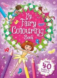 fairy colouring book 9781786705273