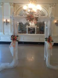 indoor wedding arch how to decorate your ceremony your local florist with locations