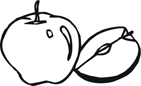 basket of apples colouring page apple tree coloring pages simple