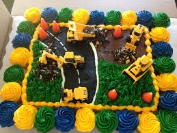 jack u0027s construction cake i got the cake from sams club and then