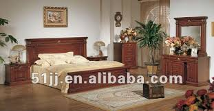 european style bedroom furniture queen carved wood bed xy 2805