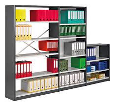 rayonnage bureau départ rayonnage de bureau à croisillons hauteur 200 cm largeur 90