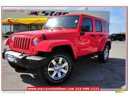 jeep sahara red 2013 rock lobster red jeep wrangler unlimited sahara 4x4 79713388