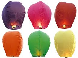 amazon com 12 premium sky lanterns 40
