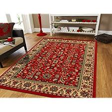 Maroon Rug Amazon Com Large 8x11 Area Rug For Living Room Red 8x10