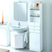 Bathroom Sink Storage Solutions Pedestal Sink Storage Solutions Best Bathroom Sink Storage
