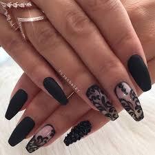 Black Manicure Designs Black Design Nails Graham