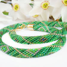 colored rope necklace images Best beaded rope necklace pattern products on wanelo jpg