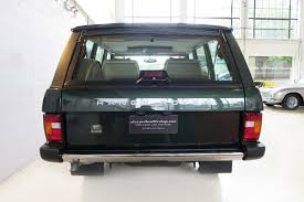 green range rover classic 1995 range rover classic ardennes green classic throttle shop