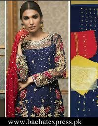 replica clothing zainab chottani chiffon bridal replica 3 bachat express