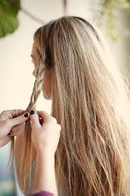 dirty messy hair easy styling tips