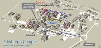 Miami University Campus Map by Heriot Watt Map Heriot Watt Campus Map Scotland Uk
