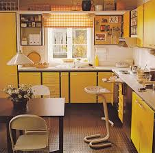 yellow kitchens antique yellow kitchen best 25 70s kitchen ideas on 70s decor vintage