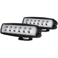 Off Road Led Light Bar For Trucks by Amazon Com Led Light Bar Nilight 2pcs 18w Spot Lights Led Pods