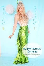 Mermaid Costumes Halloween Joy Fashion Halloween Sew Homemade Mermaid Costume