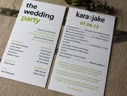 wedding program size creative wedding programs wedding programs programming and