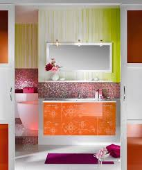 orange bathroom ideas pulp up your bathroom with shades of orange