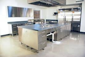 stainless steel kitchen island stainless steel cabinet ikea size of home steel kitchen work