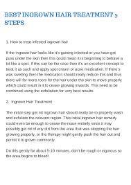 do ingrown hair hurt how to remove ingrown hairs