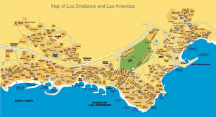 Vigo Spain Map by Large Playa De Las Americas Maps For Free Download And Print