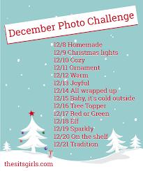 Challenge Instagram December Instagram Photo Challenge The Sits