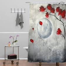 curtain style bird shower curtain priscilla curtains tree shower
