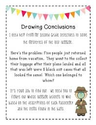 drawing conclusions activity top seller drawing conclusions