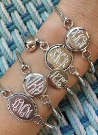 monogram bracelet sterling silver heirloom quality engraving https www swellcaroline monogram