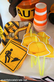 construction party supplies construction birthday party events to celebrate