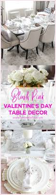 day table decorations blush pink valentines day table decorations setting for four
