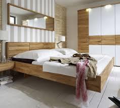 Schlafzimmer Massivholz Massivholzbett Schwebend Aus Kernbuche Rosso Betten De
